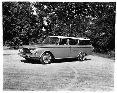 1962 AMC Rambler Ambassador Station Wagon Factory Photo ad7937