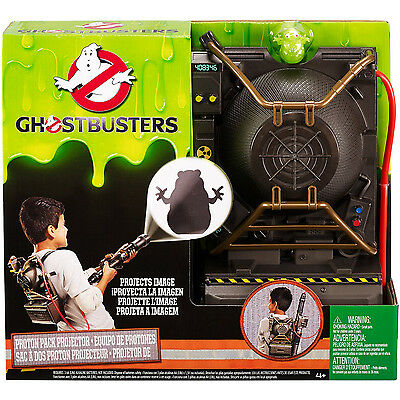 Ghostbusters Electronic Proton Pack Projector Costume Accessory | MATTEL DRW72