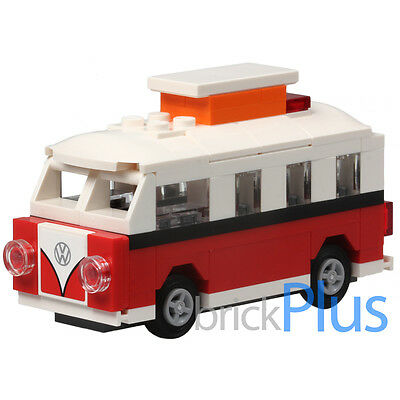 Lego 40079 Mini VW T1 Camper Van Replica - included Sticker and instructions