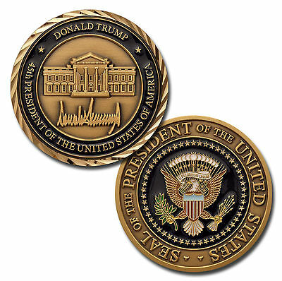 NEW Donald Trump 45th President of the United States of America Challenge Coin.