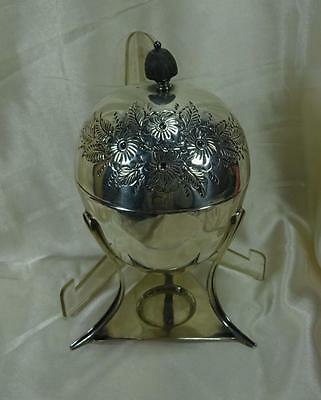 Antique Sheffield Silverplate Wm. Hutton & Sons Egg Coddler Cooker, Warmer c1890