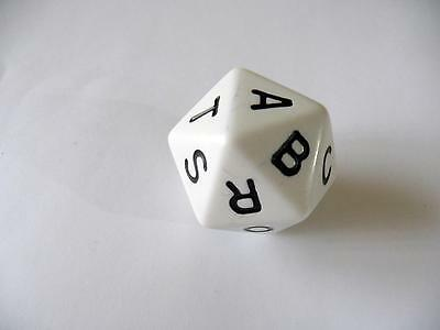 Scattergories Game - Large Letter Dice ONLY - Replacement/Spare Part