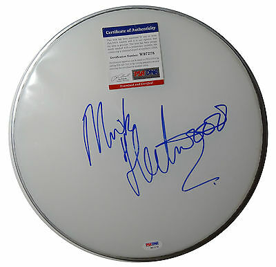 Signed Mick Fleetwood Mac Autographed Drumhead W/ Psa/dna # W97278