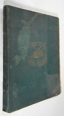 Crofutt's Grip-Sack Guide of Colorado, Antique Book Scarce First Edition, 1881