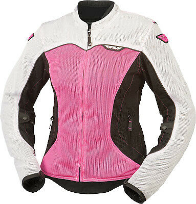Fly Racing #5948 477-8038~5 Flux Air Women's Jacket XL Pink