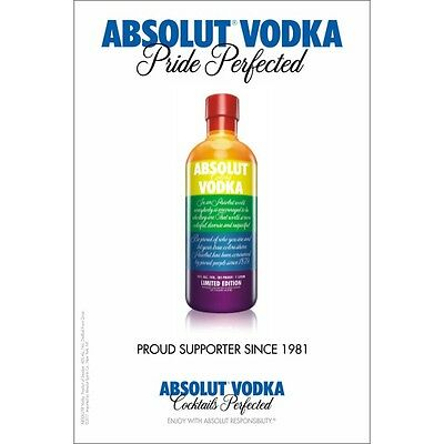 "Absolute ""pride""  Lgbt Poster 24 By 36  New"