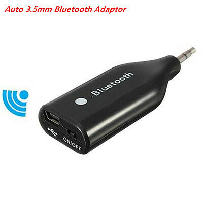 3.5mm Aux Wireless 3.0 Bluetooth Receiver Audio Stereo Speaker Adapter Car Kit