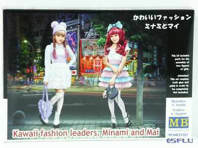 Master Box 1:35 MB35187 Kawaii fashion leaders. Minami and Mai - NEU!