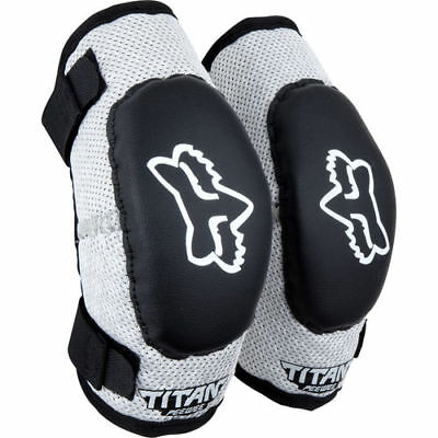 Fox Racing Pee Wee Kids Boys Elbow Guards Protection Mx Bmx Mtb 6-9 Year Olds