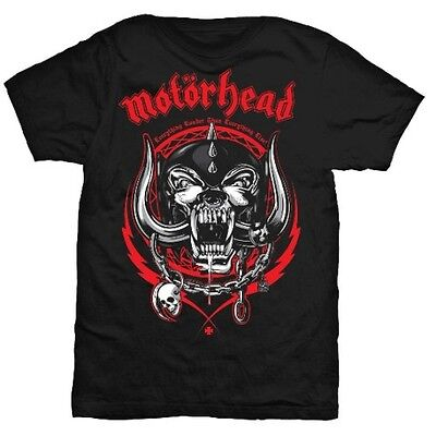 Motorhead T Shirt Lightning Wreath Overkill Officially Licensed Mens Rock Merch