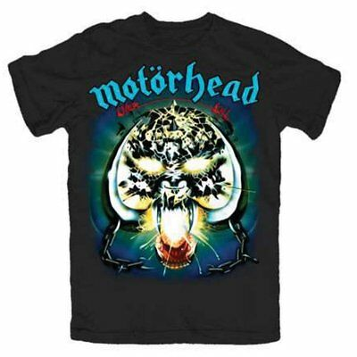 Motorhead T Shirt Overkill Officially Licensed Mens Black Tee Unisex Rock Merch