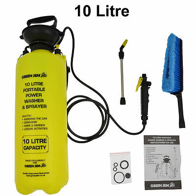 NEW 10 litre Portable Power Wash Sprayer + Xtra's, cars, Vans, caravans, Lorrys