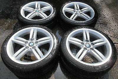 "Full Set of 18"" Alloy Wheels for BMW E8X 1 Series M Double Spoke 208"