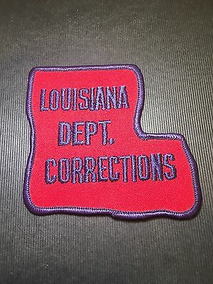 Louisiana  Dept Of Corrections  Shoulder  Patch