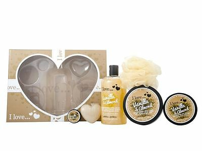 I Love... The Big Box of Love Vanilla & Almond Beauty Set - Body Care