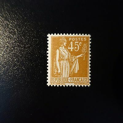 France Type Paix N°282 Neuf ** Luxe Gomme D'origine Mnh