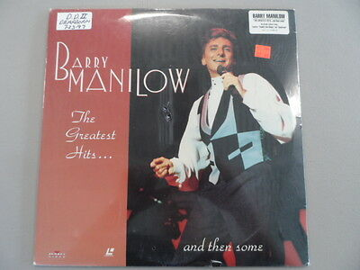 Barry Manilow Greatest Hits and Then Some LaserDisc SEALED!