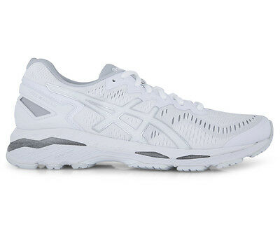 ASICS Women's GEL-Kayano 23 Shoe - White/Snow/Silver