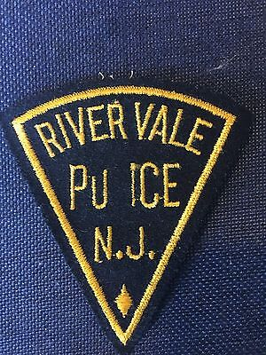 River Vale New Jersey  Police Shoulder Patch Very Old