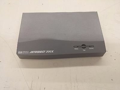 LOT OF 3  HP JetDirect 300x External Print Server J3263 WITH POWER SUPPLY