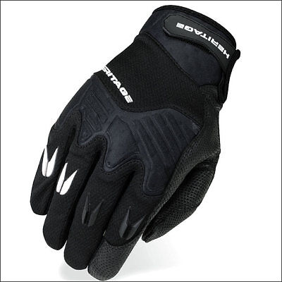 06 Size Heritage Polo Pro Horse Riding Equestrian Padded Glove Black