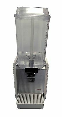 Crathco D15-4 2-bowl,5 gallon premix drink dispenser w/plastic panels