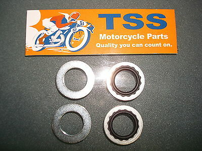 70-7351 83-0002 Triumph Bsa Norton 500 650 Petcock Sealing Washers Kit 2 Ea.