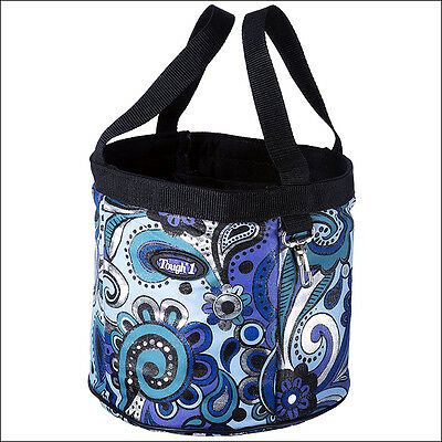 Tough 1 Horse Tack Final Touches Grooming Caddy Bag Paisley Shimmer Print