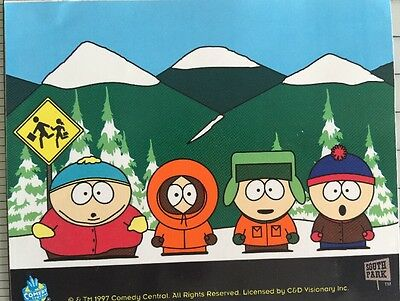 South Park Kenny, Kyle, Stan, Cartman Sticker Decal Comedy Central