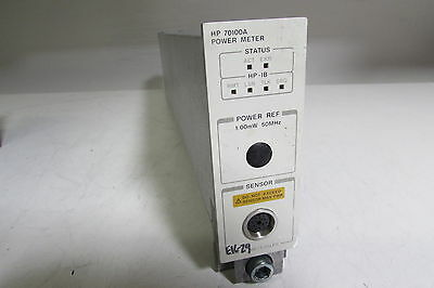 Agilent HP 70100A Power Meter Module Spectrum Analyzer MMS Plug-In