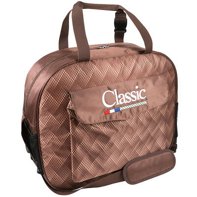 Classic Equine Horse Roping Single Compartment Padded Basic Rope Bag Chocolate