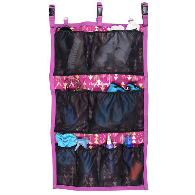 "42""x24"" CLASSIC EQUINE HORSE BOOTS MESH POCKET HANGING GROOM CASE BAG ARROWS"