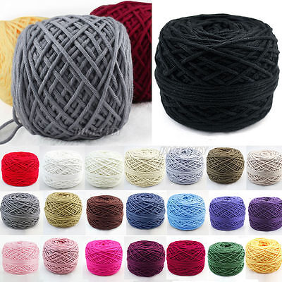 Smooth Cotton Natural Double Knitting Wool Yarn Dk Ball Baby Woolcraft 200g