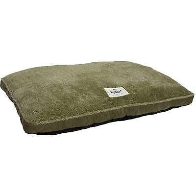 """Quilted 2 Tone Terry Bed 30""""X40"""" Green 875904392137"""