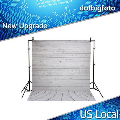 US Photography Backdrops Photo Props Studio Background Wall Wood Floor 3x5ft