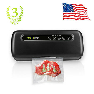 Razorri E5200-M Portable Vacuum Sealer Machine Kitchen Food Saver Sealing System