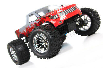 HSP 1/10 Scale 2.4GHz RTR.18cxp Nitro / Gas 4WD Radio Remote Control RC Monster