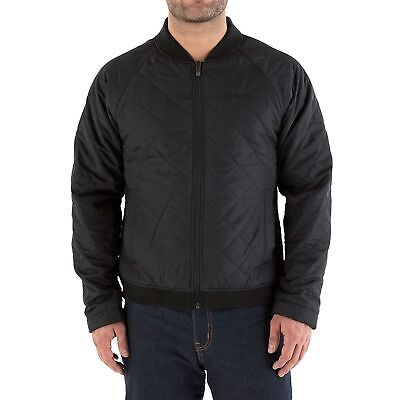 Knox Male / Mens Thermal Quilted Black Motorcycle / Motorbike / Riding Jacket