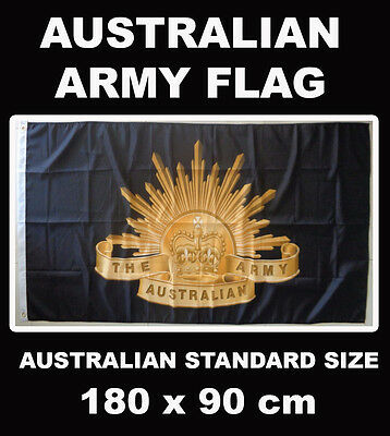 Australian Army Flag Rising Sun Badge Australia Flag AUSPOST REGISTERED TRACKING