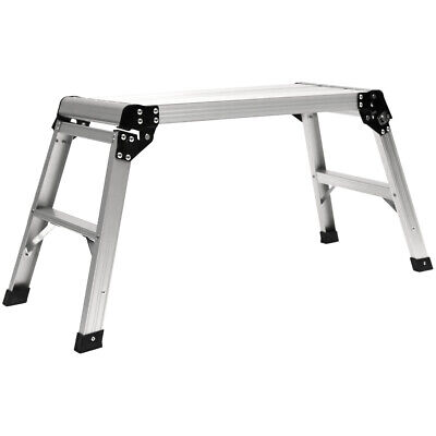 Charles Bentley En131 Foldable Lightweight Work Platform Aluminium 150Kg