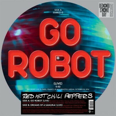 """RED HOT CHILI PEPPERS Go Robot 12"""" Single Pic Disc Vinyl NEW RSD 2017"""