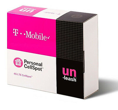 T-Mobile NXT CEL-FI-D32-24 Indoor 4G LTE Signal Booster Personal CellSpot EUC