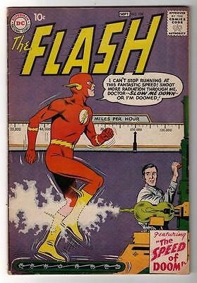 DC Comics VG+ 4.5 FLASH  #108  JLA  batman 1961 3rd part  Grodd
