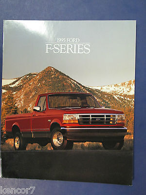 1995 Ford F-Series Trucks Sales Brochure D6527