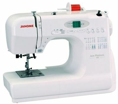 Janome Jem Platinum 720 Sewing Machine 3/4 Size Compact