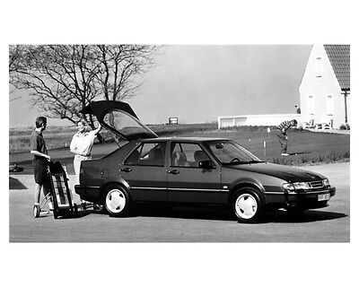 1994 Saab 9000 Factory Photo uc0009