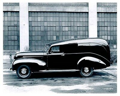 1939 Hudson Pacemaker Six Panel Delivery Factory Photo uc0046