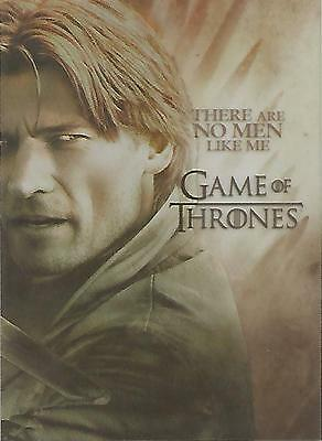 "Game of Thrones Season 2 - PL4 ""Jaime Lannister"" Plastic Gallery Chase Card"