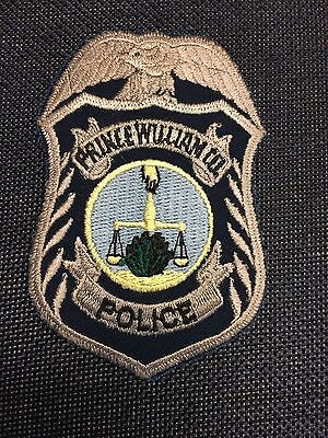 Prince William  County  Virginia Police Shoulder Patch