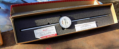 Starrett Dial Indicator 5 Inch Range With 2.5 DIA FACE light Weight   655-5041J